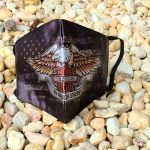 Harley Davidson Motorcycle Eagle Face Mask